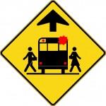 Signal avancé d'arrêt d'autobus