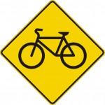 Signal avancé de passage cyclistes (droite)