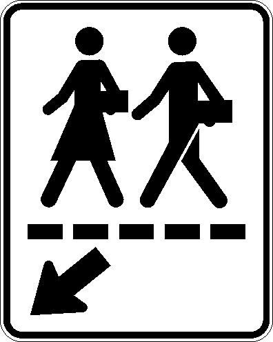 Passage écolier (droite)