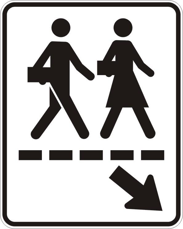Passage écolier (gauche)