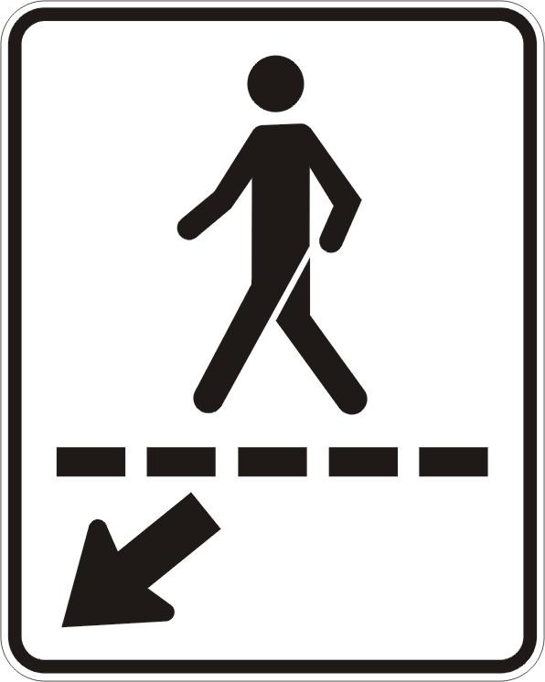 Passage piéton (droite)