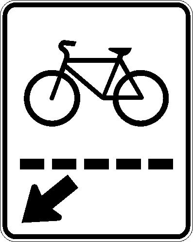 Passage cycliste (droite)