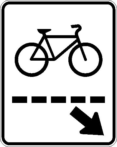 Passage cycliste (gauche)