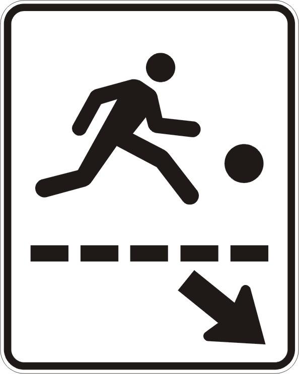Passage de terrain de jeux (gauche)