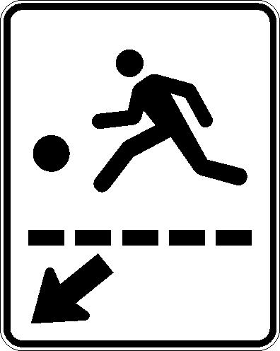 Passage terrain de jeux (droite)