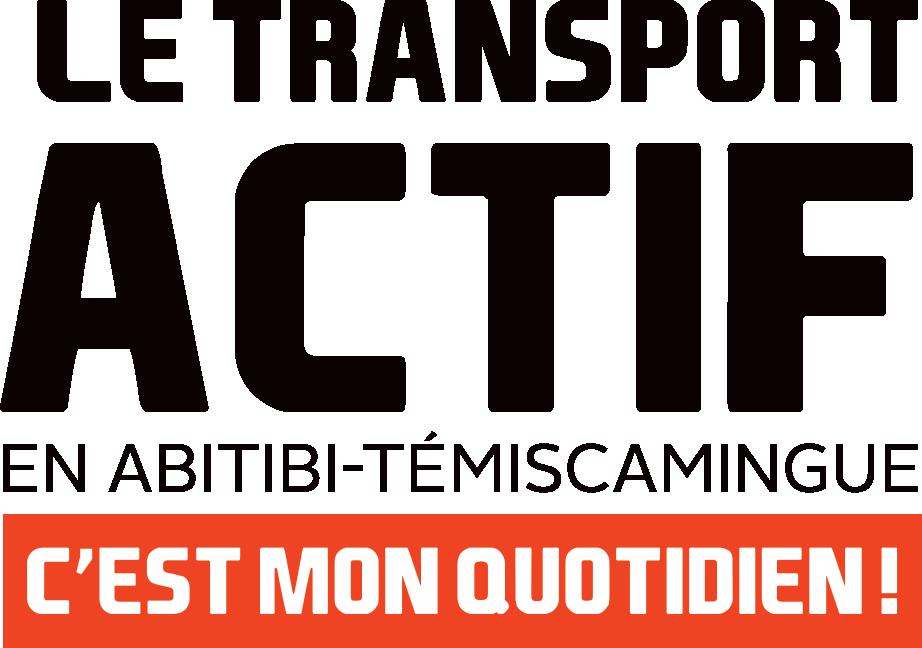 Le transport actif en Abitibi-Témiscamingue, c'est mon quotidien