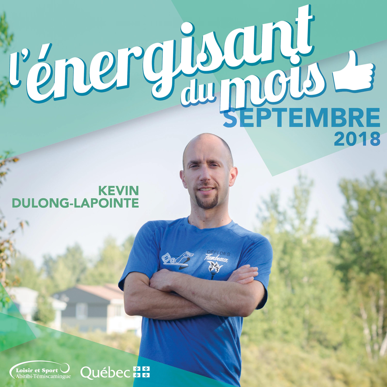 L'énergisant du mois: Kevin Dulong-Lapointe